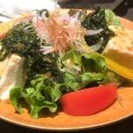 126700444 - 豆腐サラダ