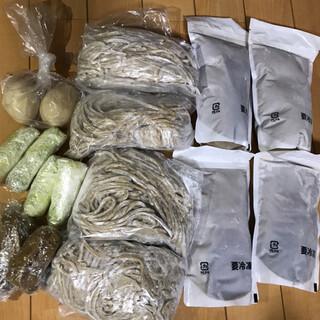 中華蕎麦うゑず - 料理写真:お持ち帰り