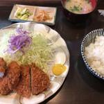 とんかつきむら - 料理写真:Cセット(1000円)