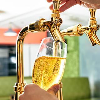 生ビールは常時数種類!希少なお酒も各種ご用意しております。