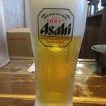 やま昇 - 生ビール