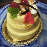 夢菓子工房 トック・ドール - 琉球の香りだったかな、黒糖を使ったものです。