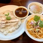 Thai Restaurant BASIL - カオマンガイ&カオソーイセット990円