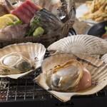 四十八漁場  - 豪快!季節の貝焼きコース