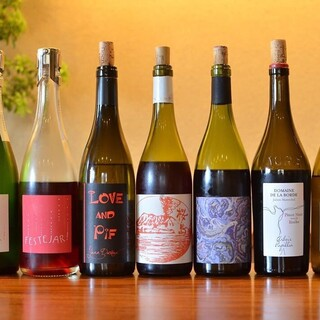 こだわりのナチュラルワイン700種以上