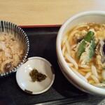 126720071 - 天ぷら定食