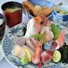 レストラン 海幸苑 - 料理写真:近海お刺身膳!!小浜港直送お刺身と煮付けのお膳です。