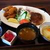 醍醐 - 料理写真:カキフライ&ハンバーグ!!