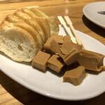 葡萄酒屋イータ - 追加のヤギミルクのチーズ
