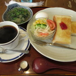 椰子の実 - 料理写真:トーストモーニング 400円 (2020.2)