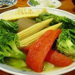 小料理 悦 - 季節のお野菜盛り合わせ