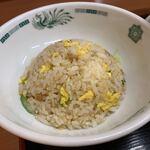 日高屋 - 【半チャーハンセット・野菜たっぷりタンメン…770円】2020/2