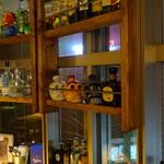 TEX MEX DINER バーボンハウス - 豊富なテキーラのラインナップ