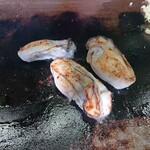 お好み焼 もりした - でかい牡蠣