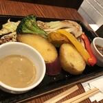 恵比壽ビヤホール - 野菜のグリル
