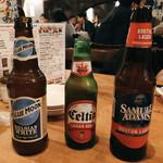 Bisutorohitsujiya - ビールも種類が豊富です♪