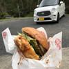 からつバーガー - 料理写真:今回の旅の相棒と共に