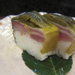 和菜 蔵 - 鯖の高菜巻き