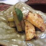 和菜 蔵 - ふきとあわびのバター炒め