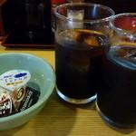 りしん - セットに付くアイスコーヒー