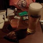 ラウンジオーサカ - ドリンク写真:「有料生ビール¥300 コイン式セルフに成ってた (*`σェ´*)フムフム」 令和二年 春節期