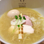 案山子 - 白湯しお ¥850(税込)アップ