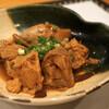 泰庵 - 料理写真:あん肝しぐれ煮/780円