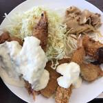 あなたの街の定食屋さん - 料理写真:あなたの街の定食屋さんめ高  スペシャル定食税込750円