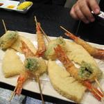 成蔵 - 海老・筍・鯛の菜の花