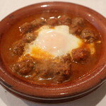 レストラン モロッコ - ミートボールのタージン