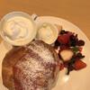 ジェラテリア・フェリーチェ - 料理写真:ジェラテリアフェリーチェさん 期間限定のイチゴのパンケーキ 1200円