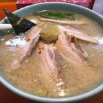 まりぼ - 料理写真:ニンニク入りチャーシュー麺 ¥1,100-