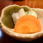 Buta inagaki - 漬け物