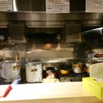 126800322 - カウンター内、厨房