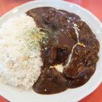 欧風カリー ドモン - 料理写真:欧風牛たんカリー(牛たん倍増) 2020.3月