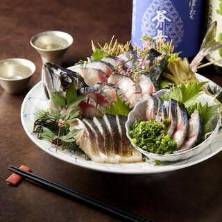 東京で食べる『生さば刺身』九州より空輸便で直仕入れしています