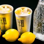 海鮮×寿司 魚衛門 - 氷果実レモンサワー