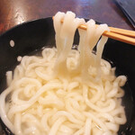 重乃井 - 釜あげうどんリフト