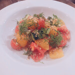 GOURMANDS - カラフル野菜のヂュカサラダ 900円