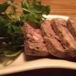 大岡山食堂 - 豚肉と白レバーのパテ