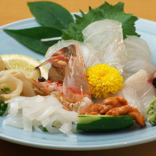 鮮度抜群の活魚料理をご堪能ください