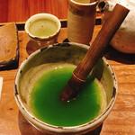126818991 - 挽きたて緑茶セルフミキシング③