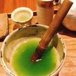 126818993 - 挽きたて緑茶セルフミキシング④