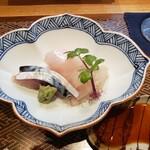 肴とお酒 うを弘 - お刺身(平目・しめ鯖・やりいか)2020.02.28