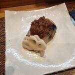 肴とお酒 うを弘 - 鰊の葺味噌焼き2020.02.28