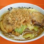 暴豚製麺所 - 小ラーメン(680円)