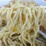 暴豚製麺所 - 小ラーメン(自家製太平縮れ麺)