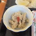 西武特別食堂 ホテルオークラ - 鰆塩麹焼&天ぷら御膳