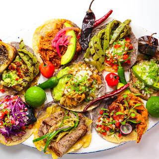 あなたはどれを食べる?◇10種類のタコス&メキシカン◇