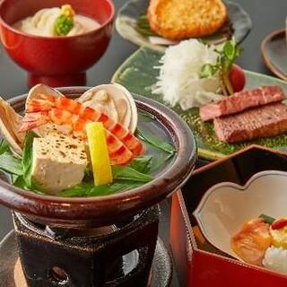 【接待・会食に】一人ひと鍋の各種会席コースをご用意